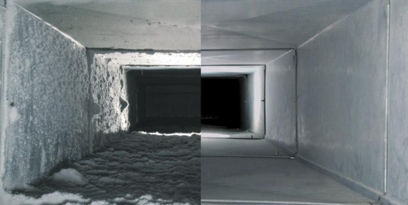 Nettoyage conduit de ventilation