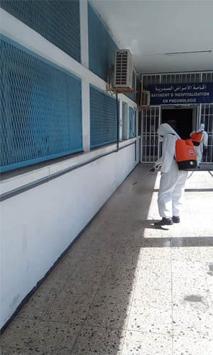 Désinfection professionnelle Tunisie : Covid-19 – Cleaning Services
